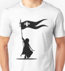 Jeanne d'Arc - Luminosité Eternelle: God is Here With Me - Black Version Unisex T-Shirt
