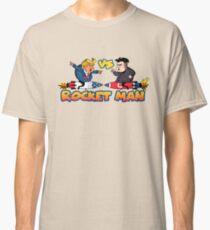 Rocketman Vs The Dotard Classic T-Shirt