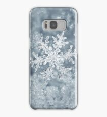 Snow flake Samsung Galaxy Case/Skin