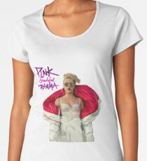 PINK beautiful trauma Women's Premium T-Shirt