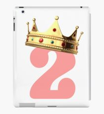 Birthday Crown Kids Gift iPad Case/Skin