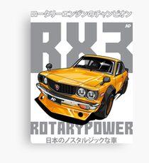 Mazda RX3 Canvas Print
