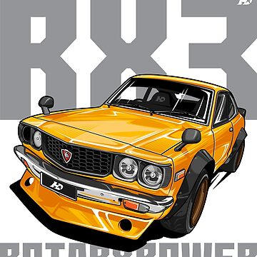 Mazda RX3 by hafisdesign