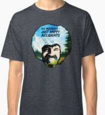 Bob Ross - Happy Accidents I Classic T-Shirt