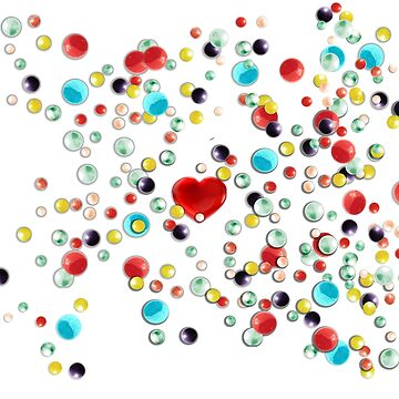 Bubble Gum Heart by Diego-t