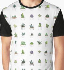 Sukkulenten Grafik T-Shirt