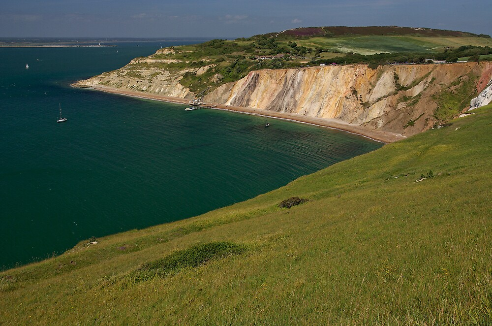Alum Bay, Isle of Wight by ludek