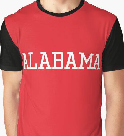 Alabama Athletic Style Graphic T-Shirt