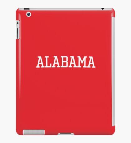 Alabama Athletic Style iPad Case/Skin