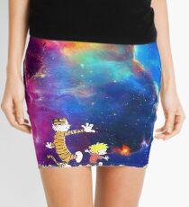 Calvin and Hobbes Nebula Mini Skirt