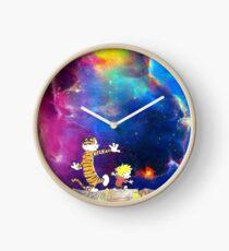 Calvin and Hobbes Nebula Clock