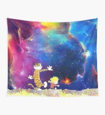 Calvin and Hobbes Nebula Wall Tapestry