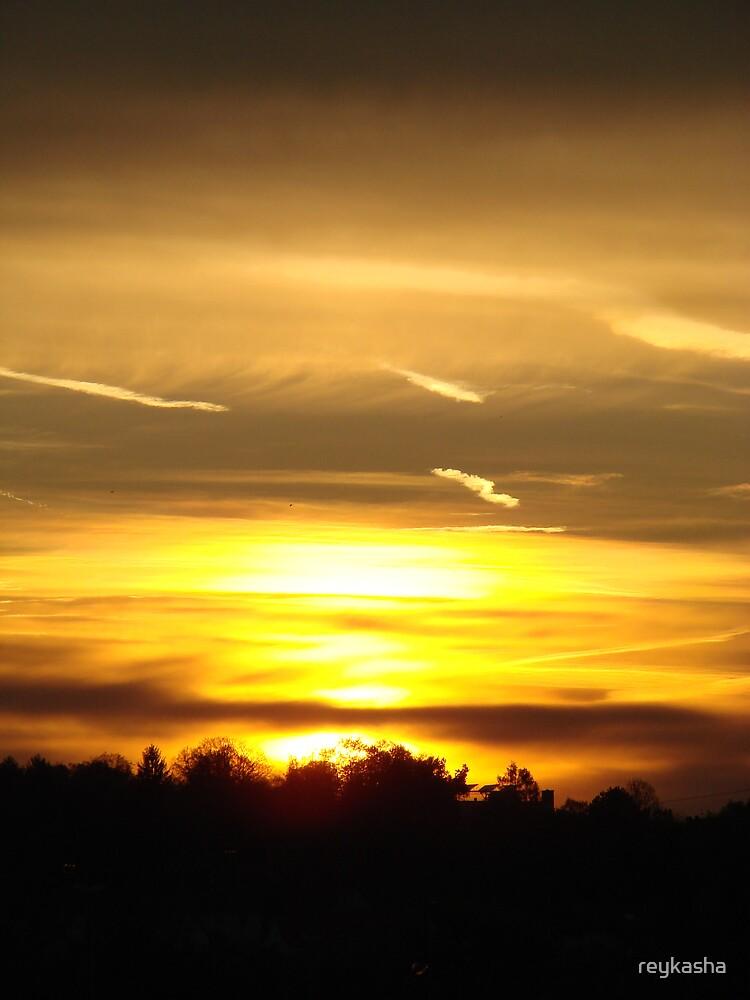 sunset 2 by reykasha