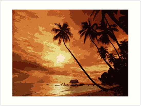 Tropical Heaven by Andrea Mazzocchetti
