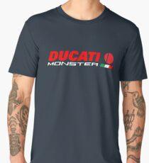 DUCATI MONSTER ITALIAN TRICOLOUR Men's Premium T-Shirt