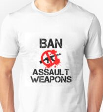 Ban Assault Weapons Vegas T-Shirt