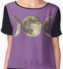 The triple moon Chiffon Top