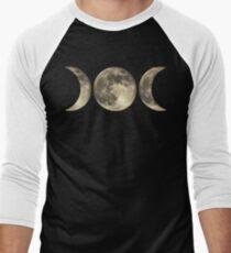 The triple moon Men's Baseball ¾ T-Shirt