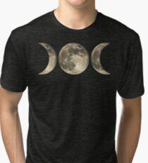 The triple moon Tri-blend T-Shirt