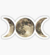 The triple moon Sticker