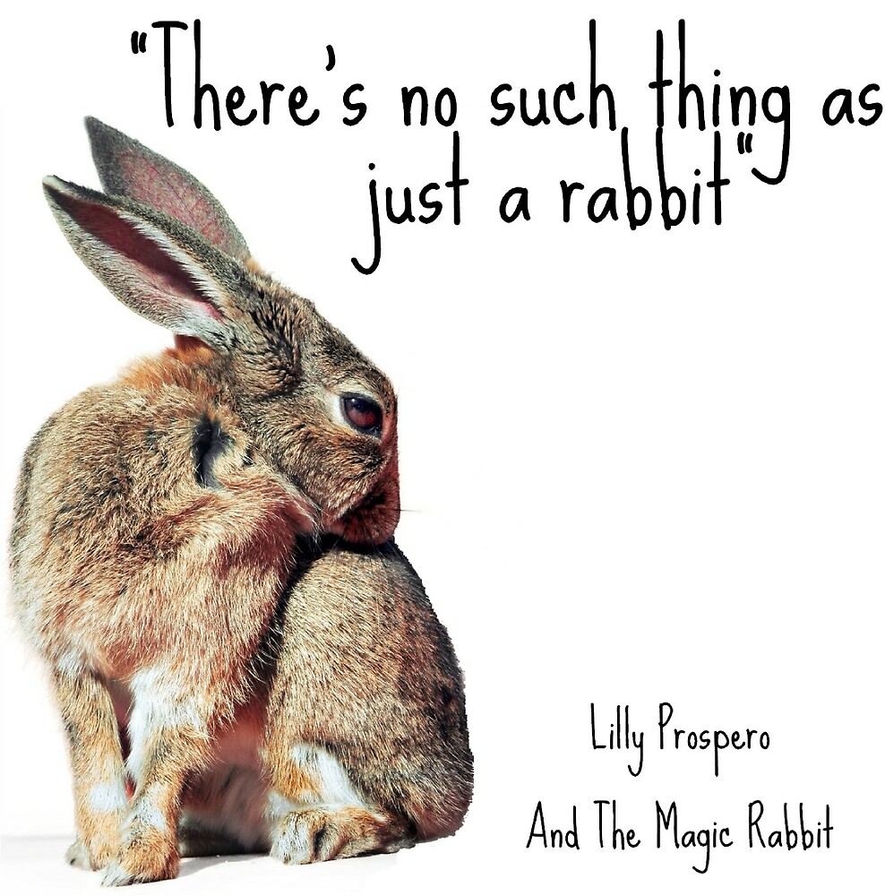 There's No Such Thing As Just A Rabbit by SirenStories