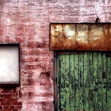 Old building facade, Richmond by rozmcq