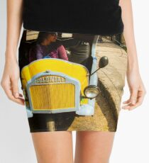 Yellow Taxi Mini Skirt