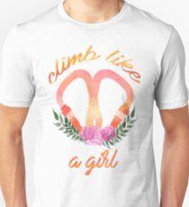 Climb like a grrrrl T-Shirt