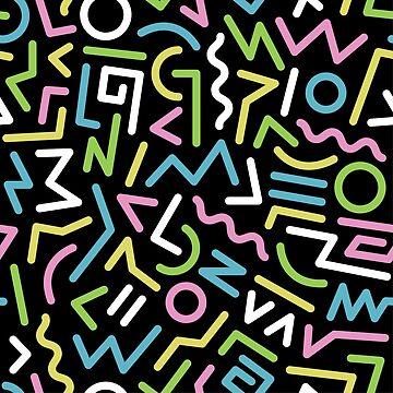 80's pattern by mydesignontrack