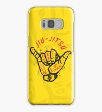 Jiu-jitsu. Go train! Samsung Galaxy Case/Skin