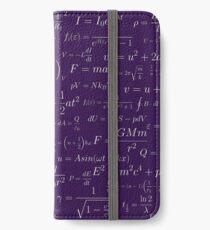 Vinilo o funda para iPhone Física - púrpura