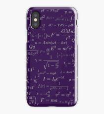 Physics - purple iPhone Case/Skin
