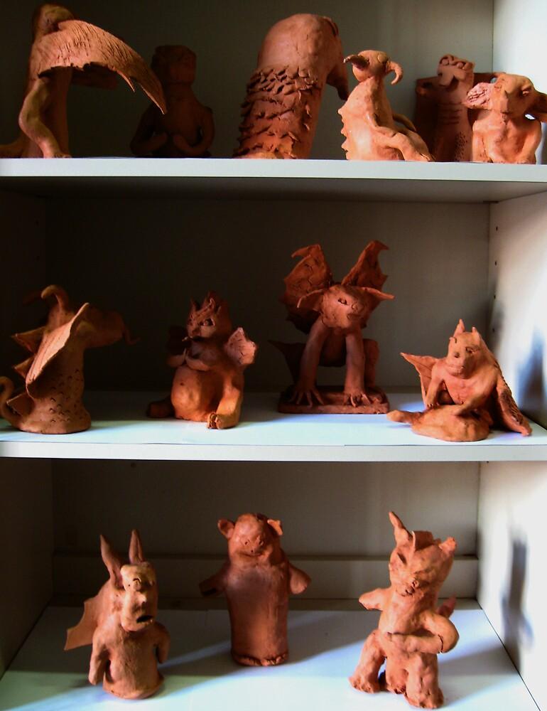 Waterford Gargoyle Display Cabinet: Yr 9 by stkevinsart