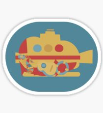 A Life Aquatic Sticker