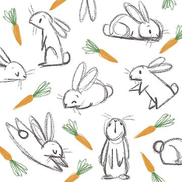 Bunnies and carrots by Garbancitalicia
