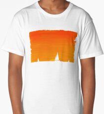 Ships at Sunset Long T-Shirt