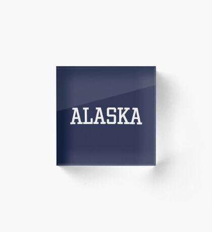 Alaska Acrylic Block
