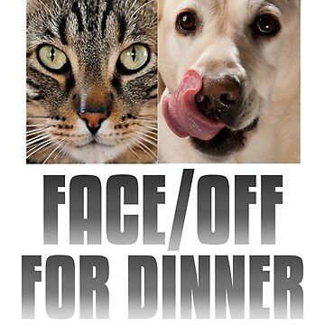 Face/Off - Cat Vs Dog by xnnovate