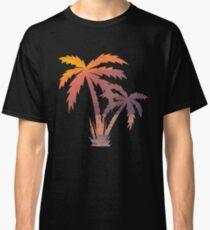 Palm Tree Shirt   Palm Tree T Shirt   Palm Tree Tee   Palm Tree Gifts   Sunset Shirt   Sunset Shirts   Sunset T Shirt   California Palm Tree Classic T-Shirt