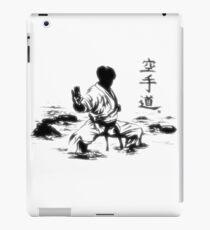 Karate Kuro Obi [LIGHT] iPad Case/Skin
