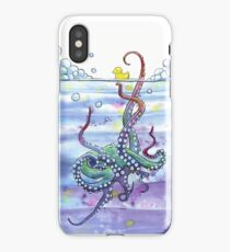Bath Time Octopus iPhone Case