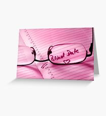 Blind Date Greeting Card