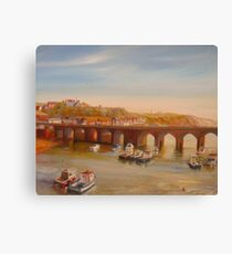 FOLKESTONE - The Old Bridge Canvas Print