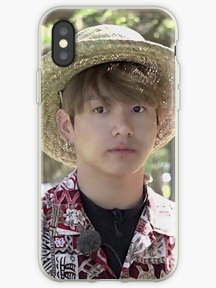 new style 656d1 6c0cf 'Puffy Jungkook in Hawaii' iPhone Case by ZeroKara