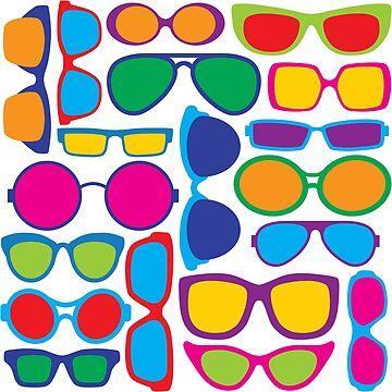 Eyeglasses Pattern by Lisann