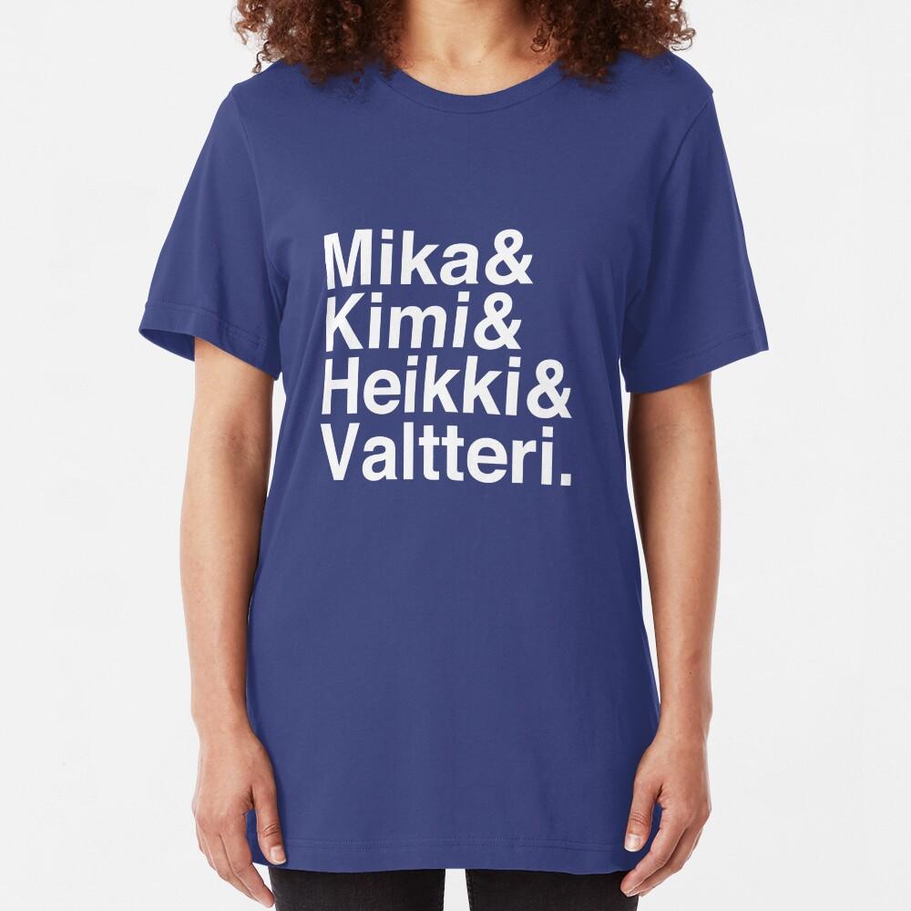 Flying Finns shirt Slim Fit T-Shirt