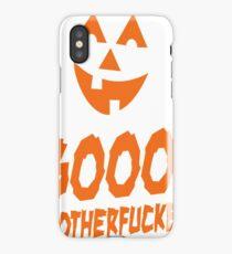 Booo! Motherfucker iPhone Case/Skin