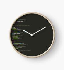 Source Code Clock