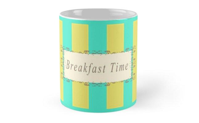 Breakfast Time Antique by Zampadoro