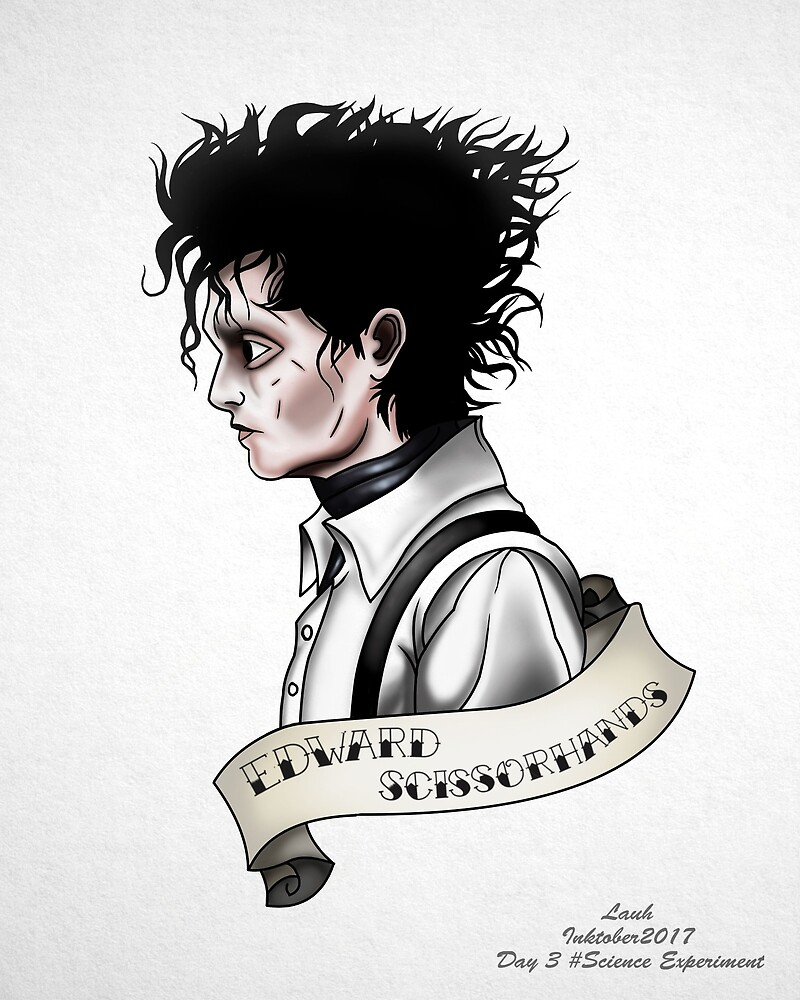 Eduardo Scissorhands by Lauhlittle